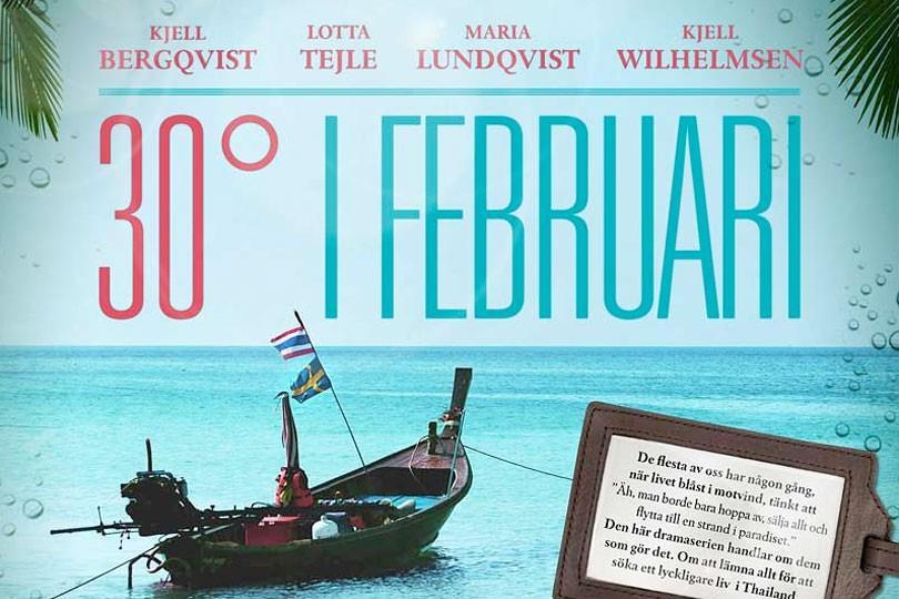30 Grader i Februari av Anders Weiderman