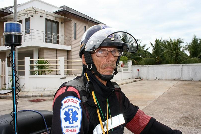 Lars Diket Dikander i Phuket