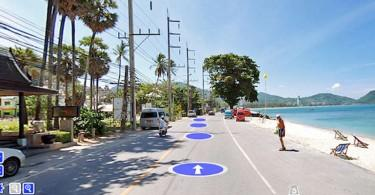 Google Street View kommer till Phuket.