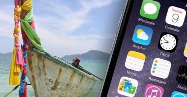 IOS och Android appar för Thailand.
