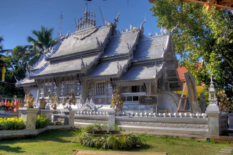 Silvertemplet i Chiang Mai.