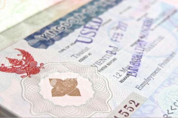 Visum och turistvisum i Thailand